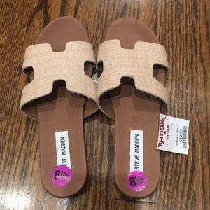 Steve Madden 81/2 woman's pink sandals